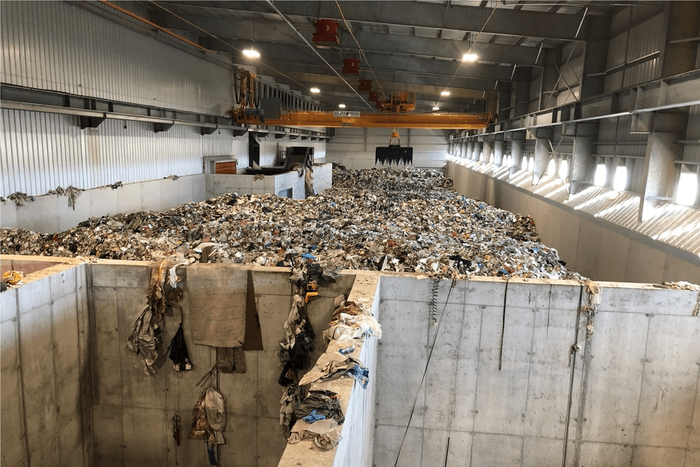 Entsorga West Virginia redefines waste management by using innovative recycling technology